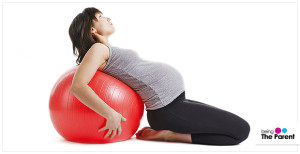 Exercising keeps your body active even during pregnancy
