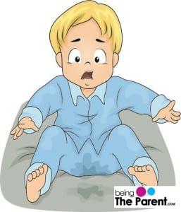 Bed wetting in children