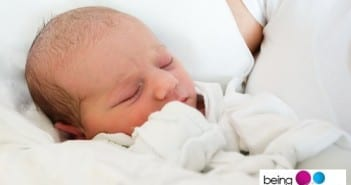 New-born baby sleeping