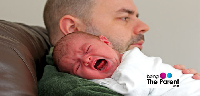 Calming a colicky baby