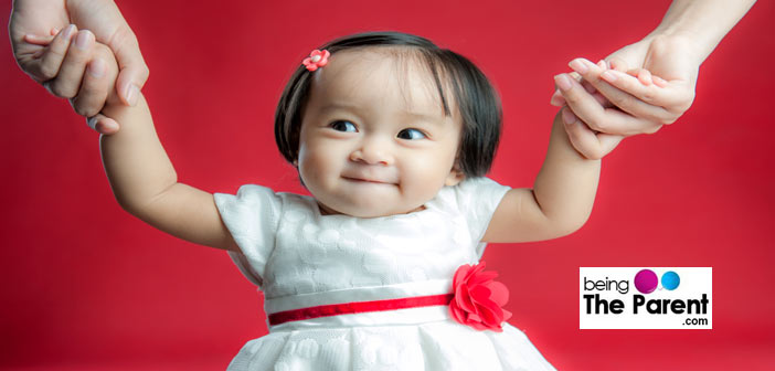 Baby Milestone- Standing