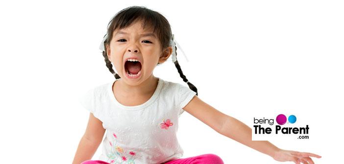 Bad mouthing toddler