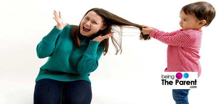 Hair Pulling Toddler