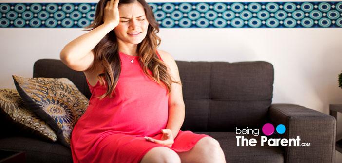 pregnant woman headache