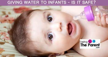 water to infants