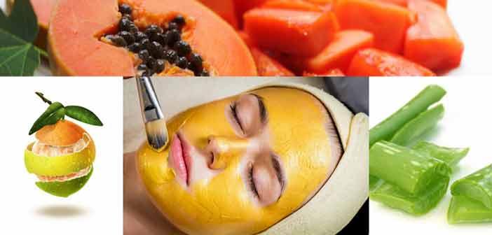 Face packs for skin pigmentation