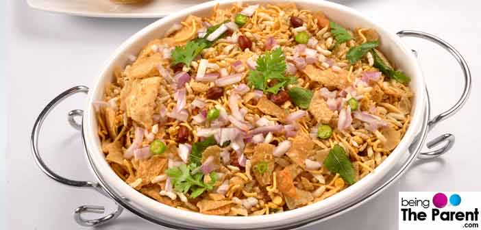 Top 10 healthy indian snacks for expecting mothers pregnant women indian bhel forumfinder Image collections