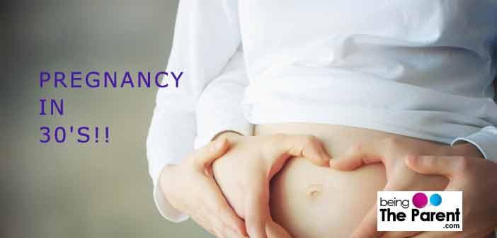 Pregnancy in 30's