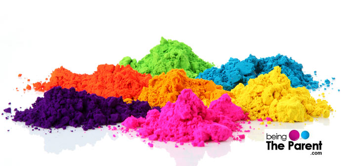 Organic Holi Colors