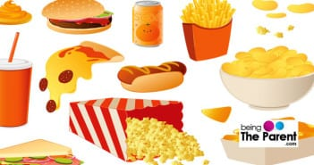 Unhealthy food for kids