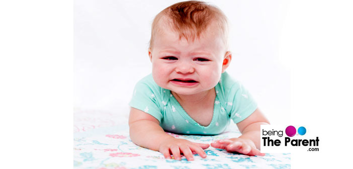 Baby Does Not Like Tummy Time
