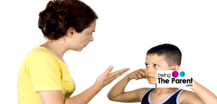 hitting your children
