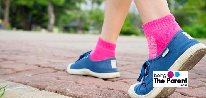 Walking for swelling