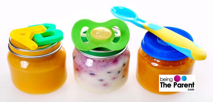 Storing baby food