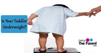 Is your toddler underweight