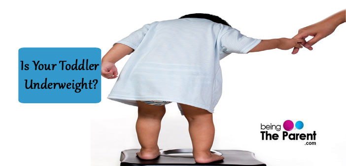 Is your toddler underweight?