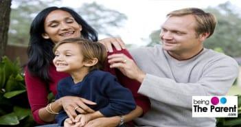 Multi-ethnic family