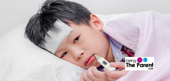 Viral fever symptoms