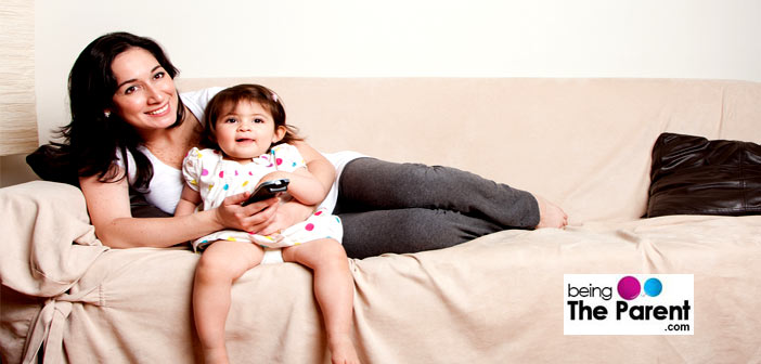 Watch TV with toddlers