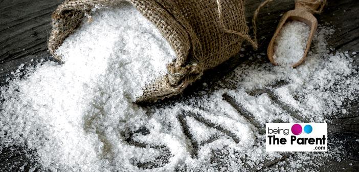 Baby food and salt