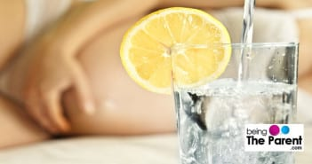 lemon water in pregnancy