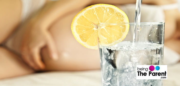 lemon water in pregnancy