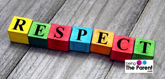 teaching respect to children