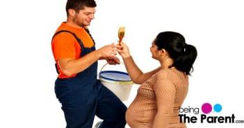 Painting in pregnancy