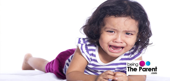 Single child tantrums