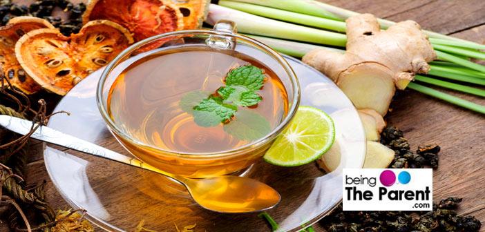 Asian herbal tea