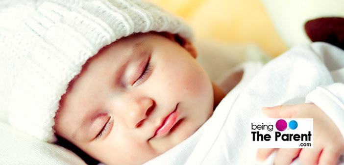 Baby sleeping peacefully
