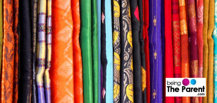 Choosing saree fabric