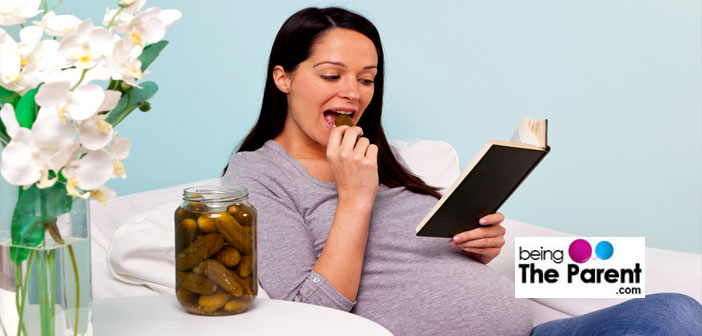 pregnant woman craving pickle