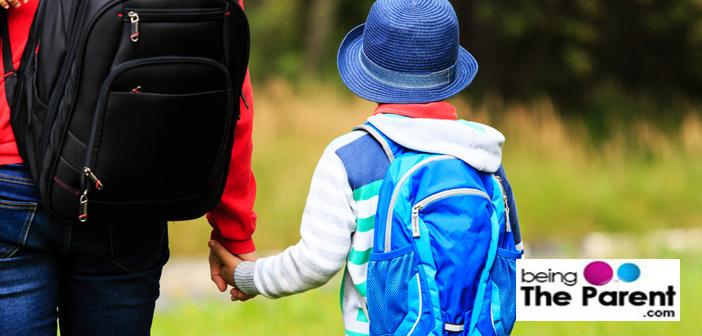Taking child to boarding school