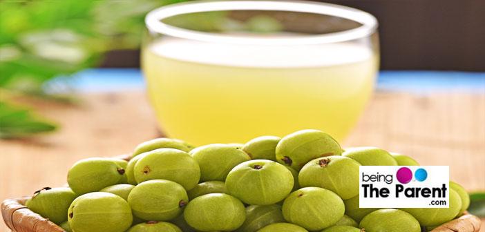 Indian Gooseberry juice in pregnancy