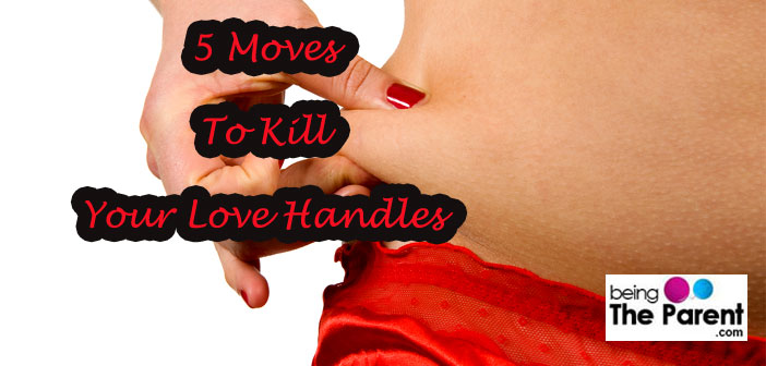 Kill Your Love Handles With These 5 Easy Moves