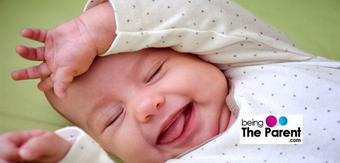 Newborn Baby Smile Pic