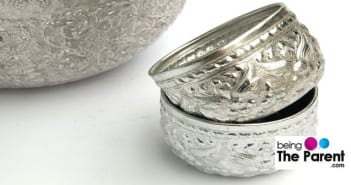 Silver bowls For Baby