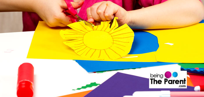 10 Paper Work Crafts Ideas For Children Being The Parent
