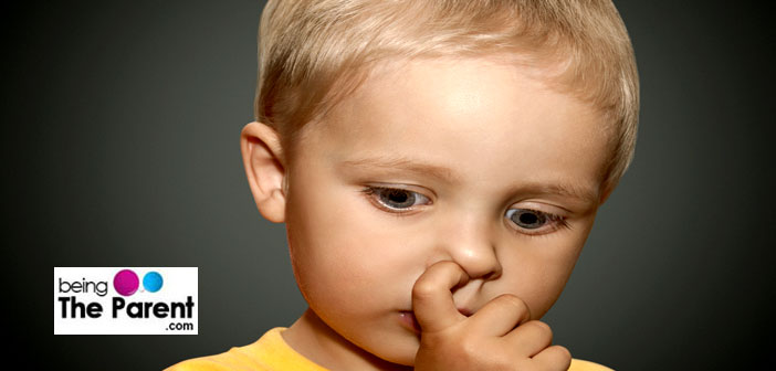 how to stop toddler picking nose