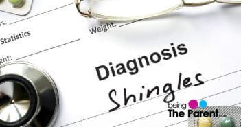 Shingles in toddlers