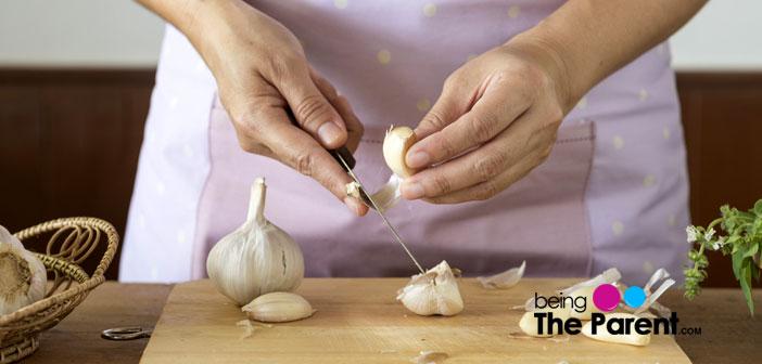 Garlic and breastfeeding