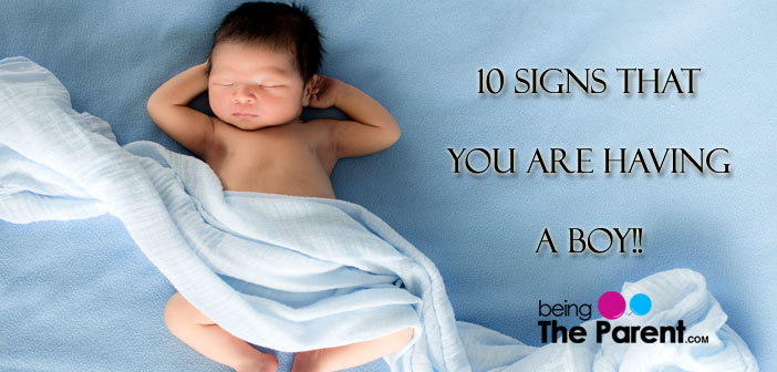 Signs of baby boy