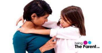 Disciplinng a child