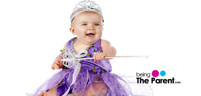 baby dressed as fairy