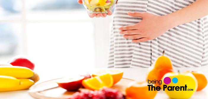 Gesunde Schwangerschaftsdiät