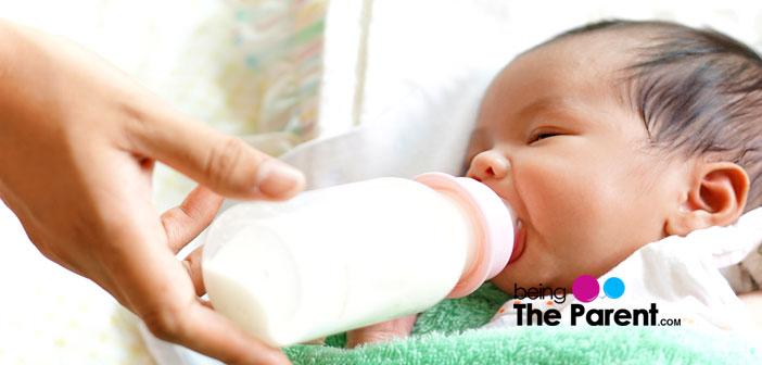 Goat milk and baby