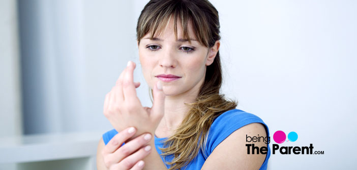 Carpal tunnel in pregnancy