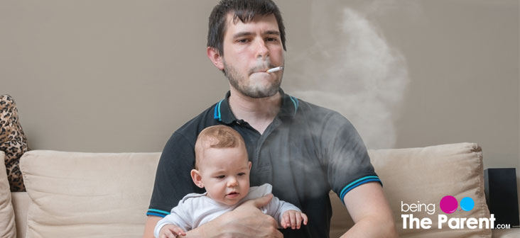 baby passive smoking