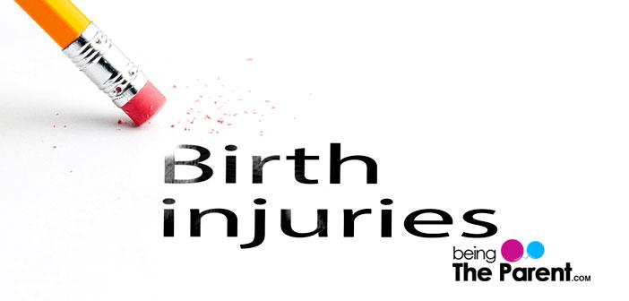 Birth traumas and injuries